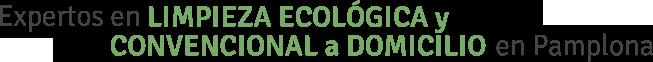 Ecolaver, expertos en limpieza ecologica en pamplona