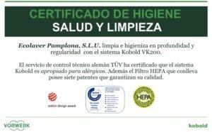 Ecolaver empresa calidad certificada kobold