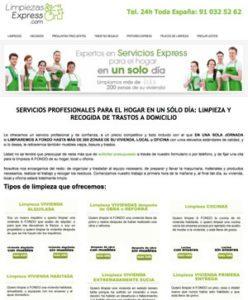 Ecolaver, limpieza express